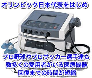 高圧電流施術 (ハイボルテージ療法)